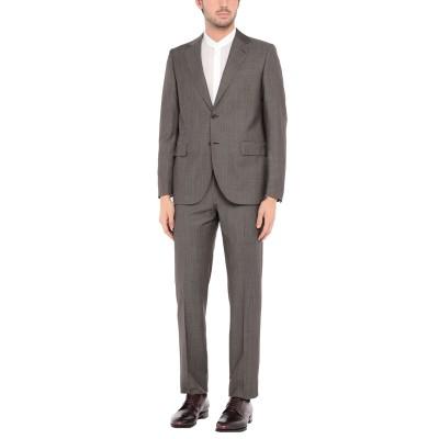 TOMBOLINI スーツ ダークブラウン 46 バージンウール 100% スーツ