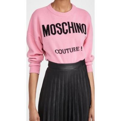 モスキーノ Moschino レディース ニット・セーター トップス Sweater Fantasy Print Fuchsia