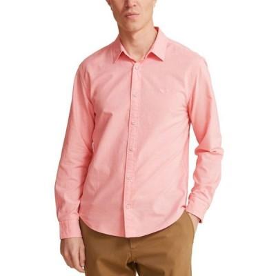 ドッカーズ メンズ シャツ トップス Men's Slim-Fit Garment-Dyed Oxford Shirt
