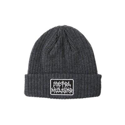 帽子 メタル マリーシャ Metal Mulisha Men's Grinder Beanie Hat Black Headwear Snow Skii Skate Cold