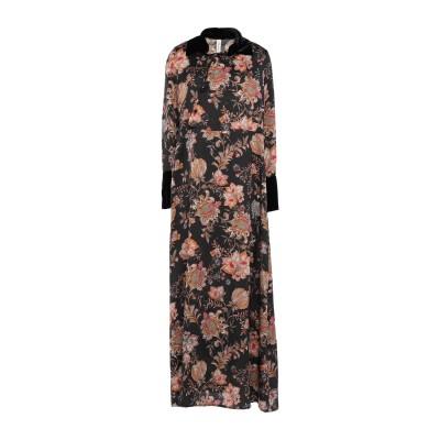 スーベニア SOUVENIR ロングワンピース&ドレス ブラック M ポリエステル 100% ロングワンピース&ドレス