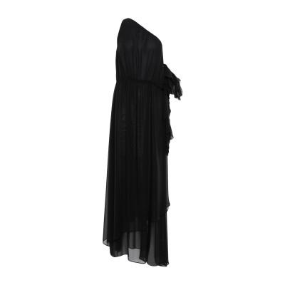 HANITA ロングワンピース&ドレス ブラック M ポリエステル 100% ロングワンピース&ドレス