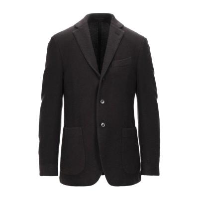 ラルディーニ LARDINI テーラードジャケット ブラック 50 ウール 89% / ナイロン 11% テーラードジャケット