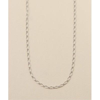 メンズ 【EDIFICE ACCENT / エディフィスアクサン】necklace A_figaro シルバー フリー
