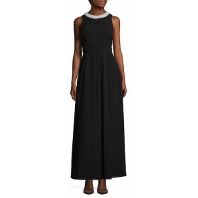 フェイム&パートナーズ レディース ワンピース Regina Open Back Floor-Length Dress