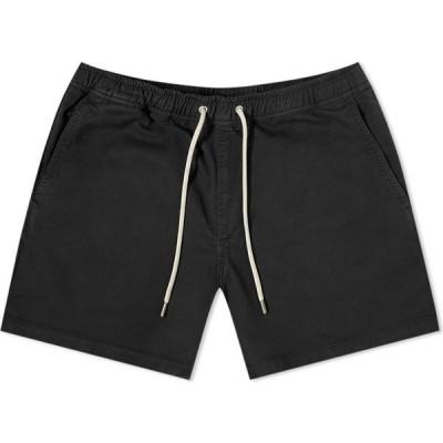 NN07 メンズ ショートパンツ ボトムス・パンツ Gregor Drawstring Short Black