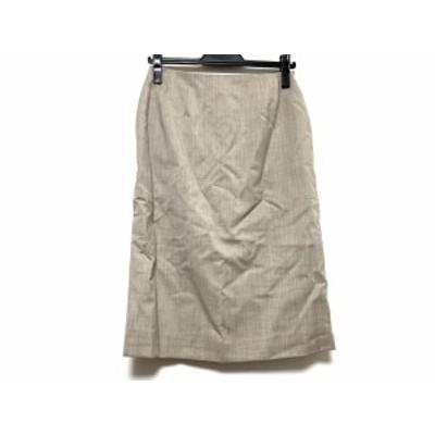 フォクシー FOXEY スカート サイズ40 M レディース ライトブラウン【中古】20200526