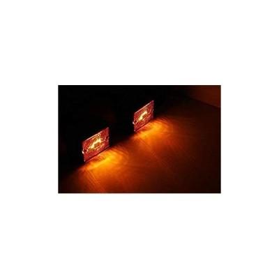 MaxxHaul 80745サイドマーカーLEDアンバーライト-2パック MaxxHaul 80745 Side Marker LED Amber L