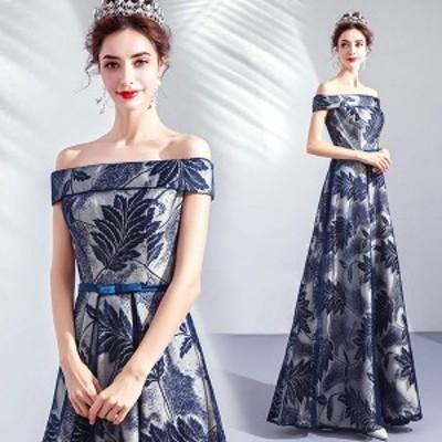 カラードレス ウェディングドレス ロングドレス パーティードレス ピアノ 発表会 ドレス 演奏会用ドレス 花嫁ドレス 編み上げ ウェディン