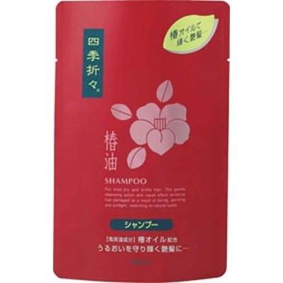【送料無料】 熊野油脂 四季折々 椿油シャンプー 詰替 450ml 24本セット 【ケース販売】