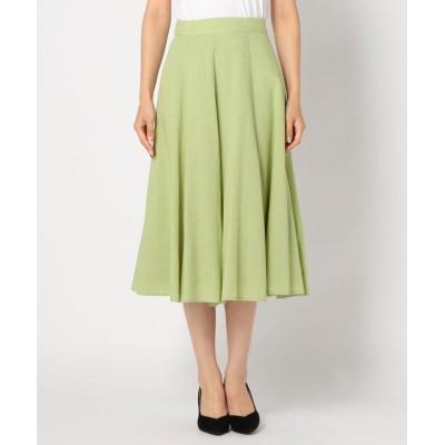 【ミューズ リファインド クローズ】 エアリースカート レディース ライト グリーン M MEW'S REFINED CLOTHES