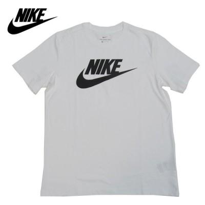 ナイキ Tシャツ 半袖 ロゴTシャツ スポーツウェア AR5005 101 ホワイト