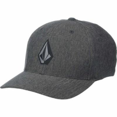 ボルコム Volcom メンズ キャップ 帽子 Stone Tech Xfit Dark Charcoal
