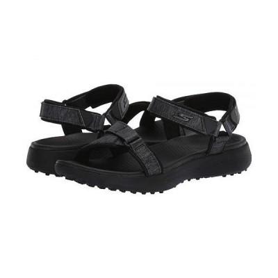 Skechers GO GOLF レディース 女性用 シューズ 靴 サンダル Go Golf 600 Sandal - Black/Black
