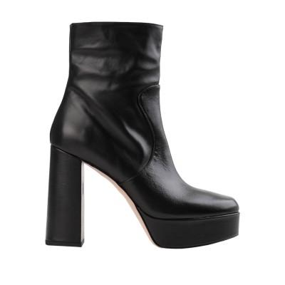 BIANCA DI ショートブーツ ブラック 41 牛革(カーフ) ショートブーツ