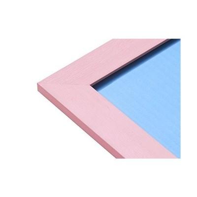 幅広パズルフレーム フラットパネル ローズピンク(26x38cm)