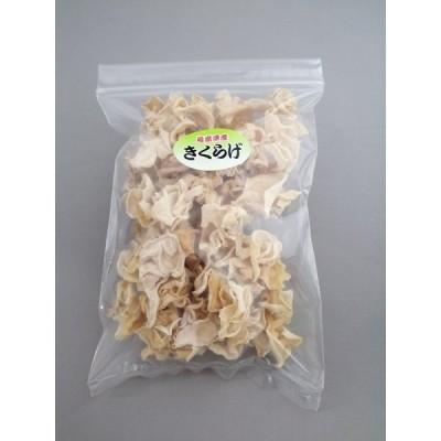 美しく珍しい乾燥白キクラゲ(100g) 栽培から収穫まですべて国内生産の無農薬 純国産