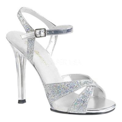 ファブリシャス サンダル シューズ レディース Gala 19 Ankle-Strap Sandal (Women's) Silver Multi Glitter/Clear