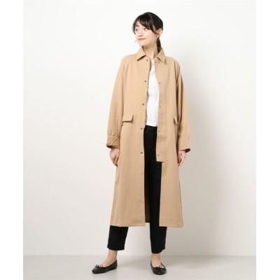 STYLEBLOCK / オーバーサイズ ハーフボタンスプリングコート WOMEN ジャケット/アウター > ステンカラーコート