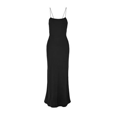 GREY JASON WU 7分丈ワンピース・ドレス ブラック 8 トリアセテート 100% 7分丈ワンピース・ドレス