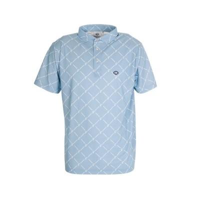 フィドラ(FIDRA) ダイヤプリントポロシャツ FD5HTG61 SAX (メンズ)