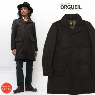 ORGUEIL オルゲイユ クラシック チェスターフィールドコート チェスターコート メルトン ウール  OR-4151