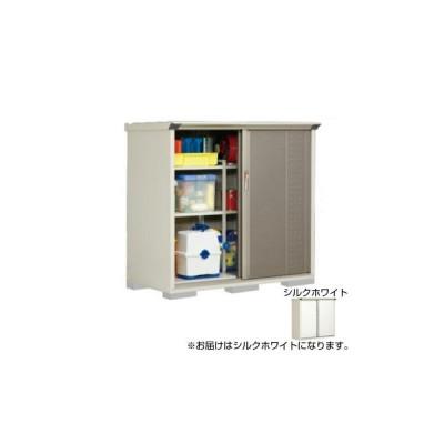 タクボ物置 グランプレステージ 全面棚 小型物置 収納庫 GP-157CF シルクホワイト 物置