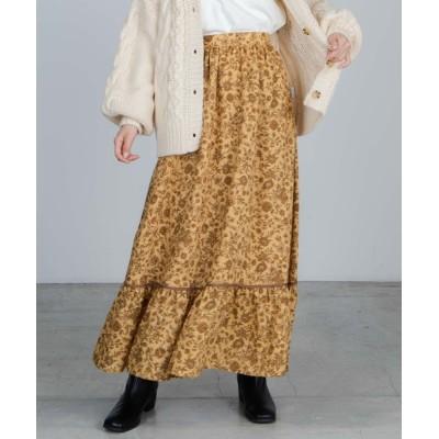 WEGO / WEGO/フラワーロングスカート WOMEN スカート > スカート