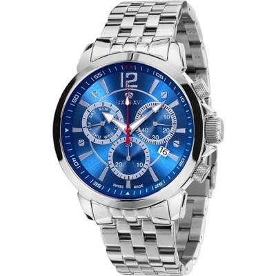 Louis XVIメンズ腕時計Athos Le Grand Bleuスイス製クロノグラフアナログクオーツステンレススチール622 並行輸入品