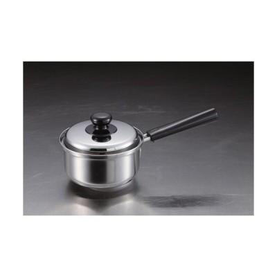 【パール金属】ステンレス鍋 3層底片手鍋 クックパレス【HB2524 14cm 】