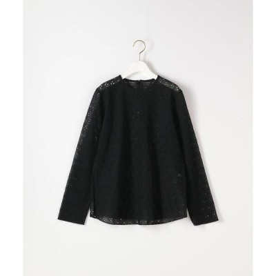 tシャツ Tシャツ <Steven Alan>FLOWER LACE CREW NECK PULLOVER/プルオーバー