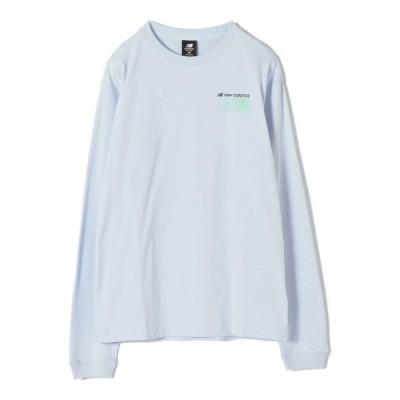 tシャツ Tシャツ NEW BALANCE:ロングスリーブTEE