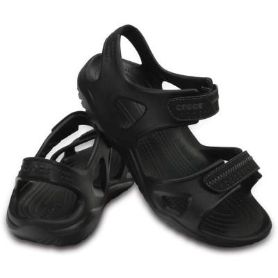 [クロックス公式] サンダル スウィフトウォーター リバー サンダル メン メンズ、男性用 ブラック/黒 26cm,27cm,28cm,29cm Men's Swiftwater River Sandal