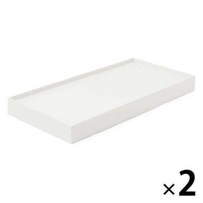 無印良品 ポリプロピレンファイルボックススタンダード用キャスターもつけられるフタ 幅15cm用・ホワイトグレー 2個 02553111 良品計画