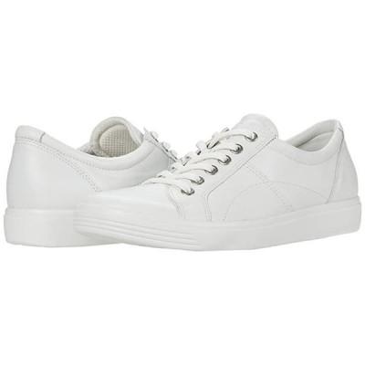 エコー Soft Classic Lace Sneaker レディース スニーカー White