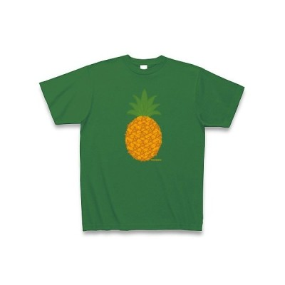 Pineapple Tシャツ Pure Color Print(グリーン)