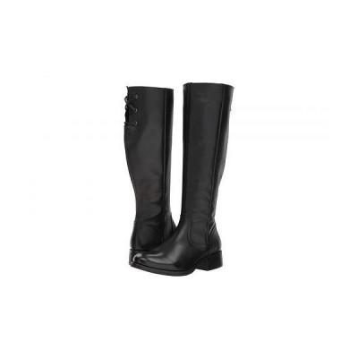 Steve Madden スティーブマデン レディース 女性用 シューズ 靴 ブーツ ロングブーツ Lover - Black Leather