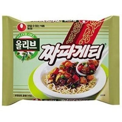 農心チャパゲティジャジャン麺(140g1個) ノンシム NONG SHIM 韓国ラーメン インスタントラーメン ジャージャー麺 チャジャン麺 ジャージャー麺