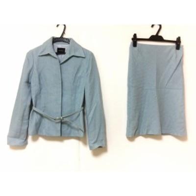ボッシュ BOSCH スカートスーツ サイズ36 S レディース ライトブルー【中古】20190827