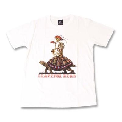 Tシャツ バンドTシャツ ロックTシャツ 半袖 (KR) グレイトフルデッド THE GRATEFUL DEAD 4 WHT S/S 白