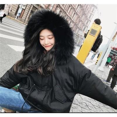 中綿コートレディースショット中綿ジャケットフード付きアウター秋冬防寒防風おしゃれ