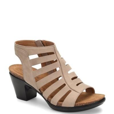 コンフォーティバ レディース サンダル シューズ Viona Suede Caged Dress Sandals Grey