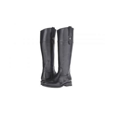 Frye フライ レディース 女性用 シューズ 靴 ブーツ ロングブーツ Jayden Button Tall Wide - Black Extended