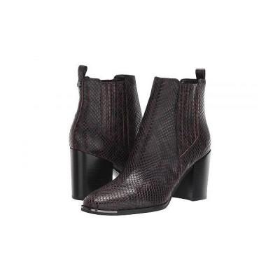 Marc Fisher LTD マークフィッシャーリミテッド レディース 女性用 シューズ 靴 ブーツ チェルシーブーツ アンクル Taline - Dark Red Leather