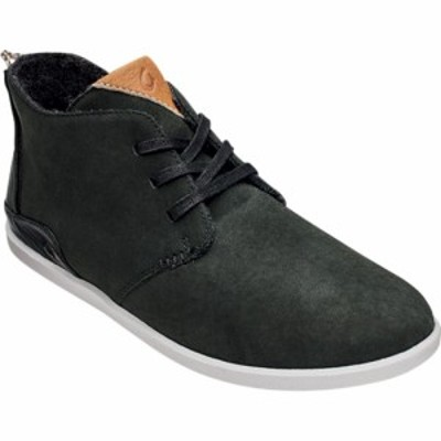 オルカイ OluKai メンズ ブーツ チャッカブーツ シューズ・靴 Hwaiiloa Manu Ihu Chukka Boot Lava Rock/Mist Grey Nubuck Leather