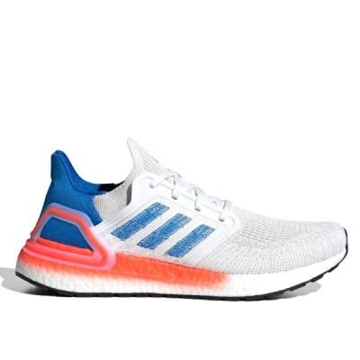adidas ULTRABOOST 20 アディダス ウルトラブースト 20 WHITE/GLORY BLUE/SOLAR RED eg0708