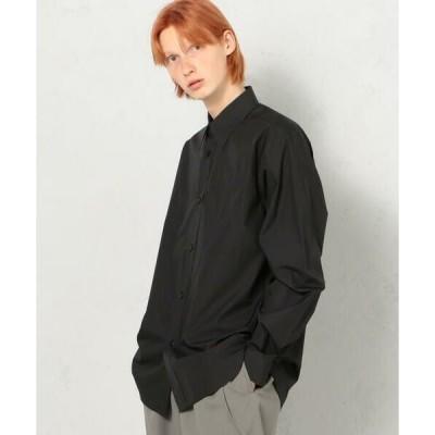 TOMORROWLAND / トゥモローランド 200/2 POPLIN コットン レギュラーカラーシャツ