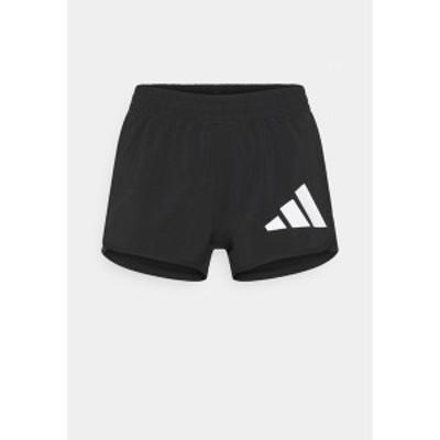 アディダス レディース カジュアルパンツ ボトムス Sports shorts - black/white black/white