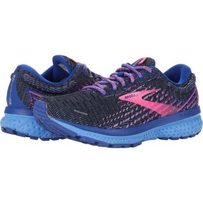 ブルックス Brooks レディース ランニング・ウォーキング シューズ・靴 Ghost 13 Ebony/Blue/Pink