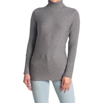 サイラス レディース ニット&セーター アウター Ottoman Turtleneck Sweater CHARCOAL